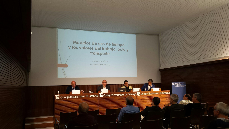 Resum de la conferència: Modelos de uso de tiempo y los valores del trabajo, ocio y transporte de Sergio Jara
