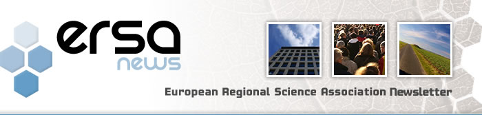 ERSA2019 Call for special session proposals, Recent activities, More on ERSA agenda 2019