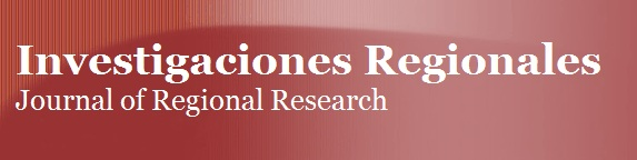 Nuestra Revista Investigaciones Regionales/Journal of Regional Research ya está en Twitter: @JRR_InvRegs
