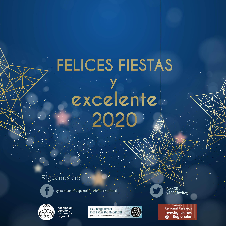 La AECR os desea FELICES NAVIDADES Y PRÓSPERO 2020