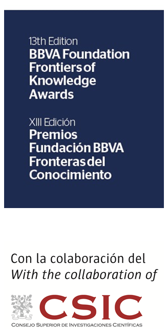 Extended until July 30! BBVA Foundation Frontiers of Knowledge Awards