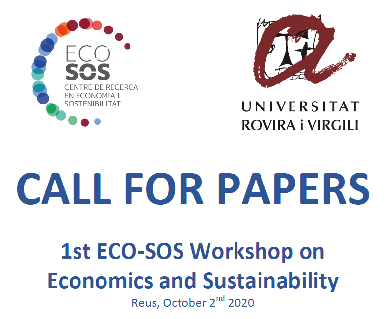 Workshops and Special Issue: Economics, Circular Economy and Sustainability