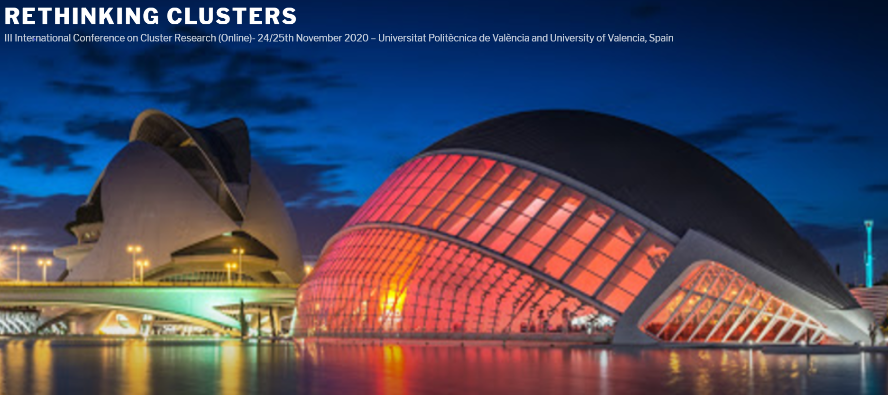 RETHINKING CLUSTERS, 3RD INTERNATIONAL WORKSHOP ON CLUSTER RESEARCH (online)