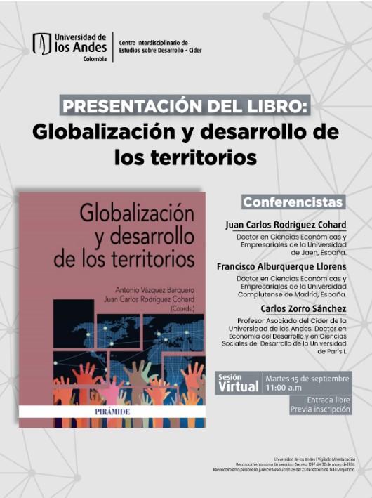 Presentación del libro: Globalización y desarrollo de los territorios