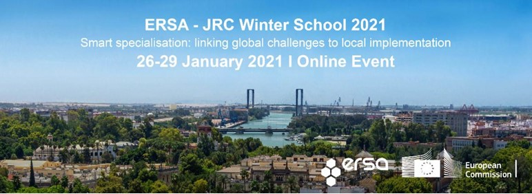 ERSA-JRC Winter School 2021: Extended Application deadline announced!