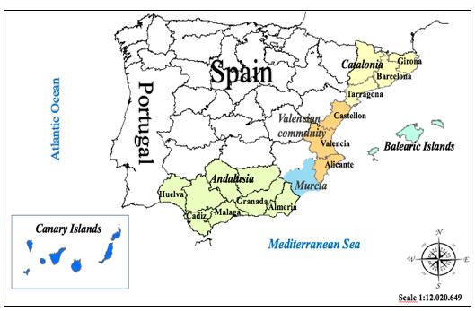Análisis comparativo de la competitividad turística en las zonas costeras españolas