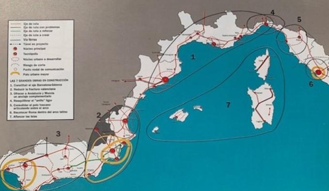 ¿Se está frenando el crecimiento en el Arco Mediterráneo Español?