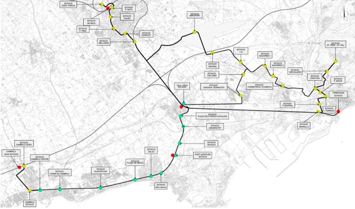 La configuración de la metrópolis y el tren-tranvía